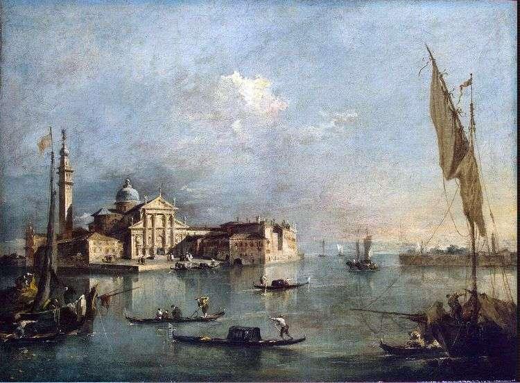 Вид на остров Сан Джорджо и Джудекку   Франческо Гварди