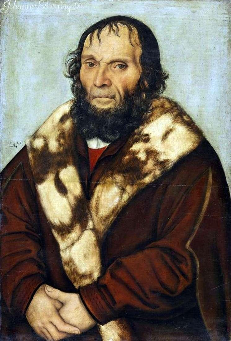 Портрет доктора Иоганна Ширинга   Лукас Кранах